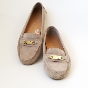 Calvin Klein suede loafers Light Tan Size 8.5